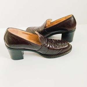 Women's Born Comfort Penny Loafers Brown siz 9